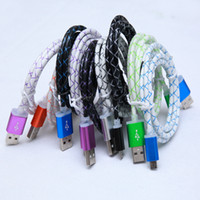Wholesale dragons lead resale online - New Dragon Micro USB Charger Cable for Samsung Galaxy S6 Sync Data Charging Adapter Lead Cord for mobile phone