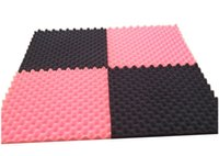 Wholesale 50 mm sound absorbing cotton eggs studio drum house shop rehearsal room KTV pyramid sound absorbing material