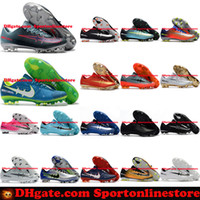 Wholesale Cream For Soccer Shoes - Mercurial Vapor XI FG Mens Football Boots New Soccer Shoes Mercurial Soccer Cleats For Men Cheap High Quality Football Cleats Soccer Boots