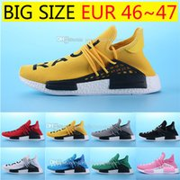 Wholesale Big M Discount - Big Size HOT Human Race Pharrell Williams X NMD Sports Running Shoes,discount Cheap top Athletic mens Outdoor Boost Training Sneaker Shoes