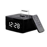 LCD Digital Radio Radio Charger Station Alarm Clock Dock musicale Altoparlante stereo Bluetooth per iPod Funzione iPhone AUX per computer PDA MP3 4 PC