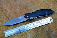 Wholesale Kershaw Survival Knives - Kershaw 1830 speedsafe opening pocket knife 8Cr13MoV blade plastic handle EDC outdoor tactical survival tool free shipping