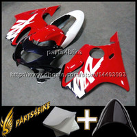 Wholesale 99 f4 plastic resale online - 23colors Gifts Injection mold YELLOW Motorcycle Fairing for Honda CBR600F4 F4 ABS Plastic Fairing