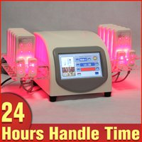 Wholesale Laser Cellulite - Professional Diode Lipo Laser 5mw 14 Pads Cellulite Removal Slimming Beauty Spa Machine Body Shaping System