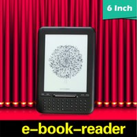 Wholesale Ebook Reader E Ink - Original Pearl eink Screen 6 inch ebook Reader 2GB FB2 Russian Electronic E-book for LG e-ink Reader R6020BQ Multi-Language