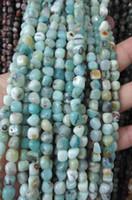 Wholesale Turquoise Stone Chip Beads - wholesale 5strands Amazonite beads African Turquoise Gemstone agate onyx fluorite stone Chips Nuggets FreeForm 4-10mm