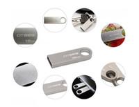 Wholesale Mini 32gb Pendrive - Mini key USB Flash Drive metal pen drive 4GB 8GB 16GB 32GB memory stick pendrive flash card with epacket hkpost shipping