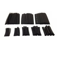 Wholesale 150pcs Sizes Assortment Heat Shrinkable Tube Shrink Tubing mm Sleeving Wrap Wire Cable Kit