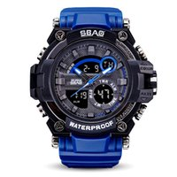 Wholesale china watches online - 2017 Mens Brand Luxury Sports Watches with metal box Outdoor Multifunction Wristwatch G Men s Clock Shock Watch From China kol saati