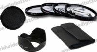 Wholesale Sigma Macro - 7in1 62 62mm Macro Close-Up +1 +2 +4 +10 Close Up Filter Kit + LENS HOOD for Canon Nikon Tamron Sigma Sony