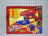 Wholesale Eva Blaster - EVA Soft Bullet Gun Toy Gun Battle Game Dart Gun Air Zoomer Toy Games 2 Pack From Blaster Wholesale