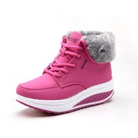 Wholesale Wedge Snow Boots For Women - 2017 new Snow boots zapatos mujer ankle boots for women winter boots shoes women winter shoes botas femininas t1800