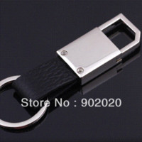 Wholesale China Designer Wholesale Free Shipping - Free shipping (10pcs lot) Split Leather Designer Keychains for Man leather furniture in china keychain camera