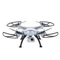 Wholesale Aerial Camera Lens - Original Syma X8G 2.4G 6 Axis Gyro 4CH RC Quadcopter Headless Mode Professional Drones with 5MP Camera HD RM3794