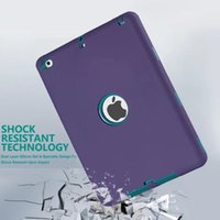 Wholesale For ipad mini Colorful Robot Shockproof Cover Kick Off Stand Military Extreme Heavy Duty Tablet cover for ipad mini