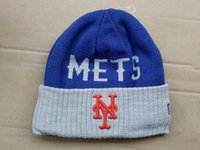 Wholesale Wholesale Church Hats New York - 2016 New Beanies New York Mets Knit Hats Sports Cap Beanies Hat Mix Match Order All Caps in stock Top Quality Hat