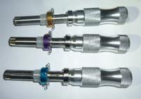 herramientas de conjunto cruzado al por mayor-Nuevas herramientas de cerrajería HUK para 3 pcs / set 7 pin set de bloqueo tubular avanzado, Padlock Tool Cross Pick Tubular Pick