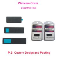 Wholesale Pc Laptop Covers - Webcam cover for IPad,Tablet pc,Laptop External Webcams Devices Protect your privacy Super Thin 1mm