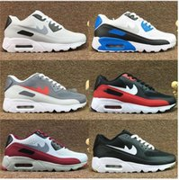 Wholesale Patchwork Cushions - Discount New Mens 90 Ultra 2.0 Essential Running Shoes Black Men Air Cushion Athletic walking Tennis Shoes Grey Man Trainers Sports Sneakers