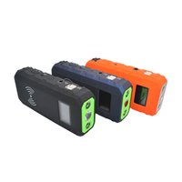 Wholesale Wholesale Car Battery Booster - 2016 car battery charger starter 12V 13500 mAh car emergency battery charger portable car booster jump motor starter bench Power Pack 010124
