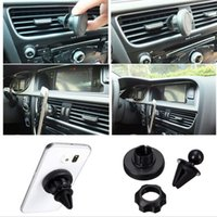 Universal Car Air Vent Mount Holder Sticky magnétique Cell Phone Holder pour iPhone 6s / 6s Plus pour Samsung Galaxy S6 Edge Plus