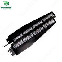 Wholesale 16w Led Bars - Car 2*16W LED strobe light bar car warning light flashlight led high quality Traffic Advisors light bar KF-L3021