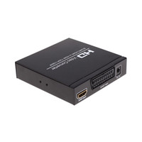 Wholesale Converter Definition - Hot-selling SCART + HDMI to HDMI Converter Full HD 1080P Digital High Definition Video Converter Adapter for HDTV HD Projector V1418