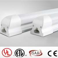 Wholesale 192 Led Cree - High Bright 4800lm Integrated 2.4m 8ft 45W Led T8 Tube Lights SMD2835 192 Leds Warm Natuarl Cool White Frosted Transparent Cover 85-265V