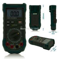 Wholesale Multimeter Circuits - MASTECH MS8264 Digital Multimeter Capacitance Frequency Temperature Meter Multimetro Multitester Protection Circuit Anti-Burn