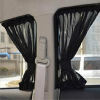 pára-sol de cortina automática venda por atacado-Cortina Do Carro Veículo Sombrinha Janela Paredes de Sombreamento Tampa Auto Lateral Brisa Protetor Solar Sun Visor Protetor UV