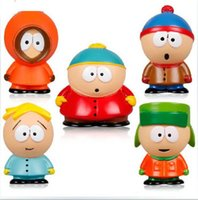 Cartoon Movie Modello 5pcs Kidrobot South Park The Stick of Truth Kyle Butters Kenny Cartman azione PVC Figure Cartoon bambole giocattoli