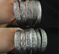 Wholesale Tribal Silver Jewelry Wholesale - 2016 Antalya Bangles,Antique Silver-plate Mixed Pattern Statement , Boho Coachella, Festival Turkish totem jewelry ,Tribal Ethnic