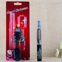 Indoor Christmas Decoration blister christmas light - 2015Hot Christmas Gift EGO Blister Kits Christmas Battery in a Christmas Blister Retail Packaging CE4 CE5 Electronic Cigarette Kit DHL Free