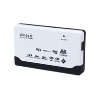 All'ingrosso-Nuovo USB 2.0 Card Reader per SD MMC XD MS CF SDHC TF del micro SD M2 adattatore Jecksion