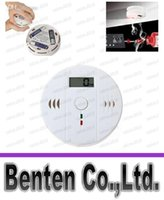 Wholesale CO Carbon Monoxide Detector Alarm System For Home Security Poisoning Smoke Gas Sensor Warning Alarms Tester Sensor LED LLFA4985F