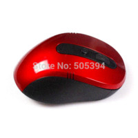 Wholesale Mouse Usb Free Shipping - Free Shipping Portable Optical Wireless Mouse 10M Working Distance 2.4G USB Recevier Long Battery Life wireless mouse free shipping