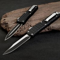 Wholesale Multifunctional Outdoors Knife - TROODON Brand high quality outdoor Multifunctional automatic knife Spring telescopic portable tactics Camping survival small free shippi