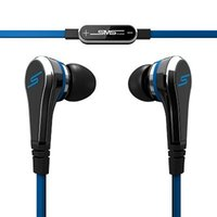 Wholesale 50PCS Cheapest Price Mini cent SMS Audio cent In Ear headphones with Mic earphone STREET by Cent