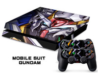 MOBILE SUIT GUNDAM DECAL SKIN PROTECTIVE STICKER для SONY PS4 CONSOLE CONTROLLER