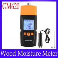 Woodworking *Resolution:0.5%  Wood moisture meter GM620 with testing probe MOQ=1 free shipping