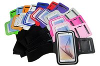 Para Samsung S8 Armband Case para iPhone 7 6s para Galaxy S7 S3 S4 S5 S6 Sport Gym Running Belt Splashproof Cover 100pcs / up