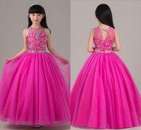 Wholesale royal wedding dress costume - 2018 Princess Dress Girls Dress Costumes Children Piano Host Wedding Flower Girl Birthday Dress Catwalk Show HY1143