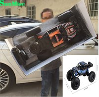 Wholesale Super Speed Rc - Super RC Truck Model 1:10 Size: 48CM High Speed Strong Climbing Engine Great Gift for Kid wholesale