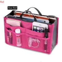 Wholesale Multi Functional Organizer Handbag - Colors Make Up Organizer Bag Women Men Casual Travel Bag Multi Functional Cosmetic Bags Storage In Bag Makeup Handbag SV029015
