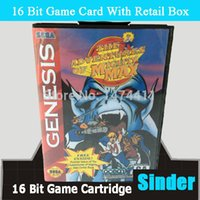 Wholesale Mighty Bites - Wholesale-Mighty Max Game Cartridge 16 bit MD Game Card For Sega Megadrive