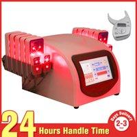 Wholesale Lipolaser Lipolysis Slimming Machine - 2015 LipoLaser LLLT Lipo Laser Cellulite Removal 160mw Lipolysis Slimming Equipment Diode Laser Body Fast Weight Loss Machine