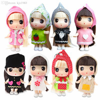 Wholesale Korean Car Bag - Wholesale-Freeshipping authentic Korean ddung confused doll 11cm Super Mini cute doll Phone bag car key pendant jewelry Toys and Gifts
