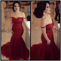 Wholesale Slim Elegant Formal Dress - Sexy 2016 African Elegant Wine Red Formal Mermaid Evening Dresses Backless Pageant Prom Gowns Shiny Sequins Slim Vestidos De Noiva
