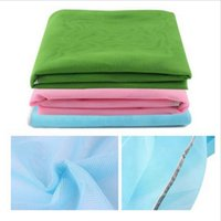 Wholesale oval bathroom - Portable Foldable Waterproof Pads For Multi Colors Beach Mats Outdoor Camping Picnic Blanket Pad 20 5sj C R