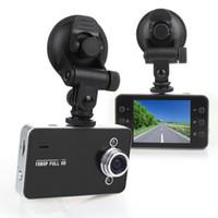 Wholesale dashcam dvr - Original NOVATEK K6000 Car DVR Full HD 1080P LED Night Car Recorder Detector Veicular Camera dashcam Carcam video Registrator